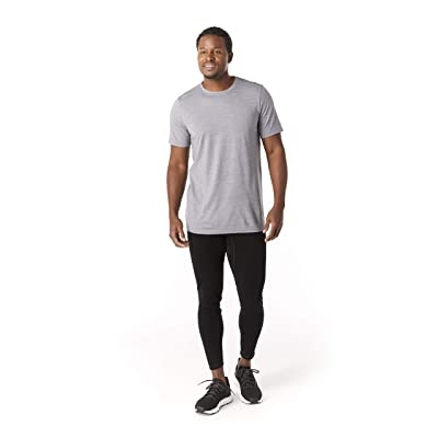 Smartwool Merino Sport 150 Tee (Light Gray Heather) Men