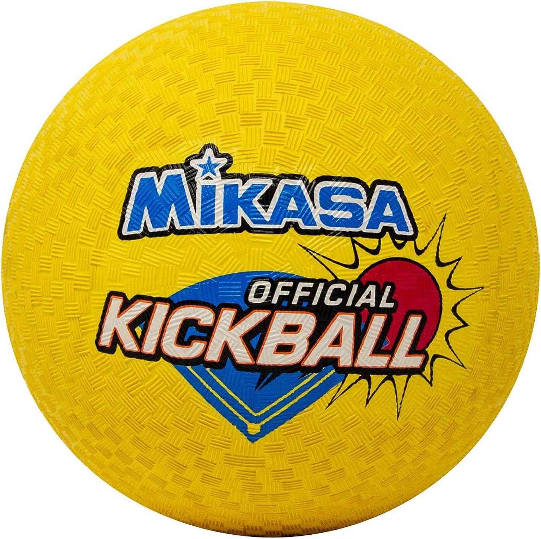 Mikasa Kick Ball (Yellow, 8.5Inch)