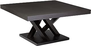 Baxton Studio Everdon Modern Coffee Table, Dark Brown