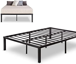 Zinus Luis Quick Lock 14 Inch Metal Platform Bed Frame / Mattress Foundation / No Box Spring Needed, Queen