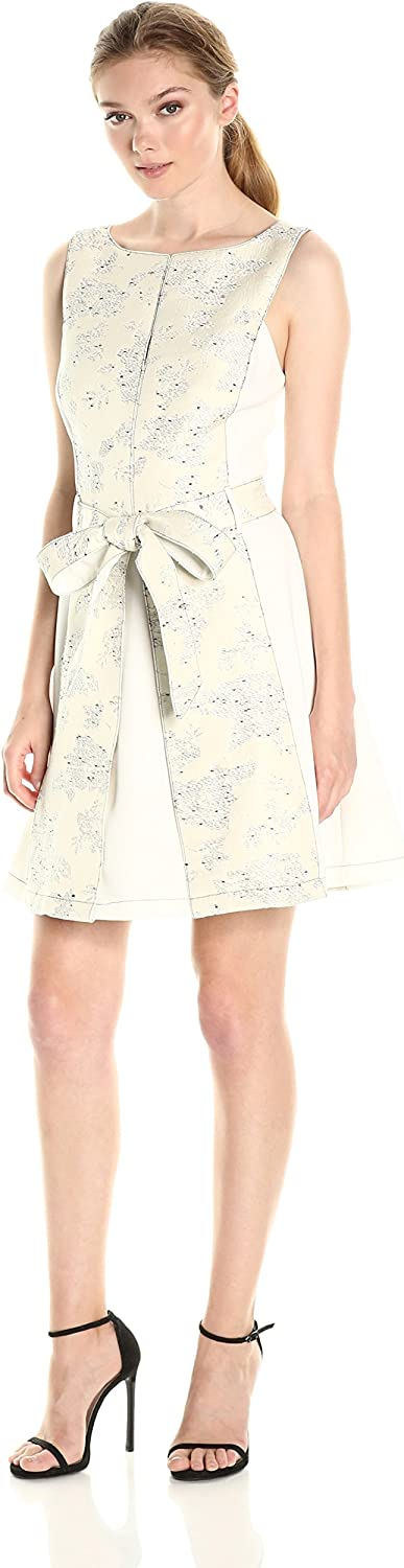 Adelyn Rae Womens Kiley Fit and Flare Dress