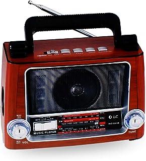 دي ال سي راديو مزود ببلوتوث ومدخل بطاقة ذاكرة اس دي، يو اس بي يو اكس DLC-32215B