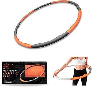 Phoenix Fitness 1,4 kg gewogen schuim gewatteerde fitness hoepel - 96 cm oefening fitness ring - golf groef ontwerp hula h...
