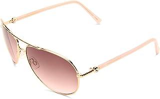 Steve Madden Women's S5187 RGLD Aviator Sunglasses