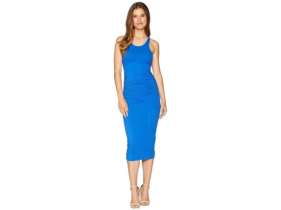 Michael Stars Racerback Dress w/ Shirring (Bayside) Women