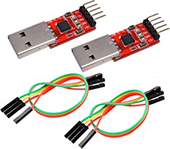 Best IZOKEE CP2102 Module USB to TTL 5PIN Serial Converter Adapter Module Downloader for UART STC 3.3V and 5V with Jumper Wires Review