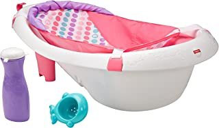 baby girl bath tub