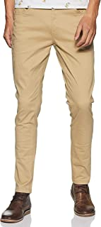 Max Men's Slim Fit Casual Trousers