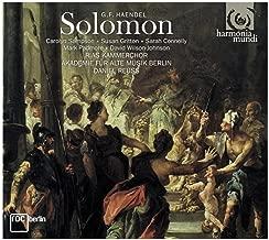 Act II, scene 2 - No.28 Recitative. Attendant, Solomon