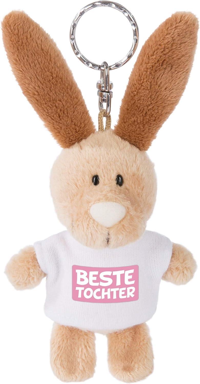 Nici 44713 Schlüsselanhänger Hase Mit T Shirt Glückspilz 10cm Spielzeug