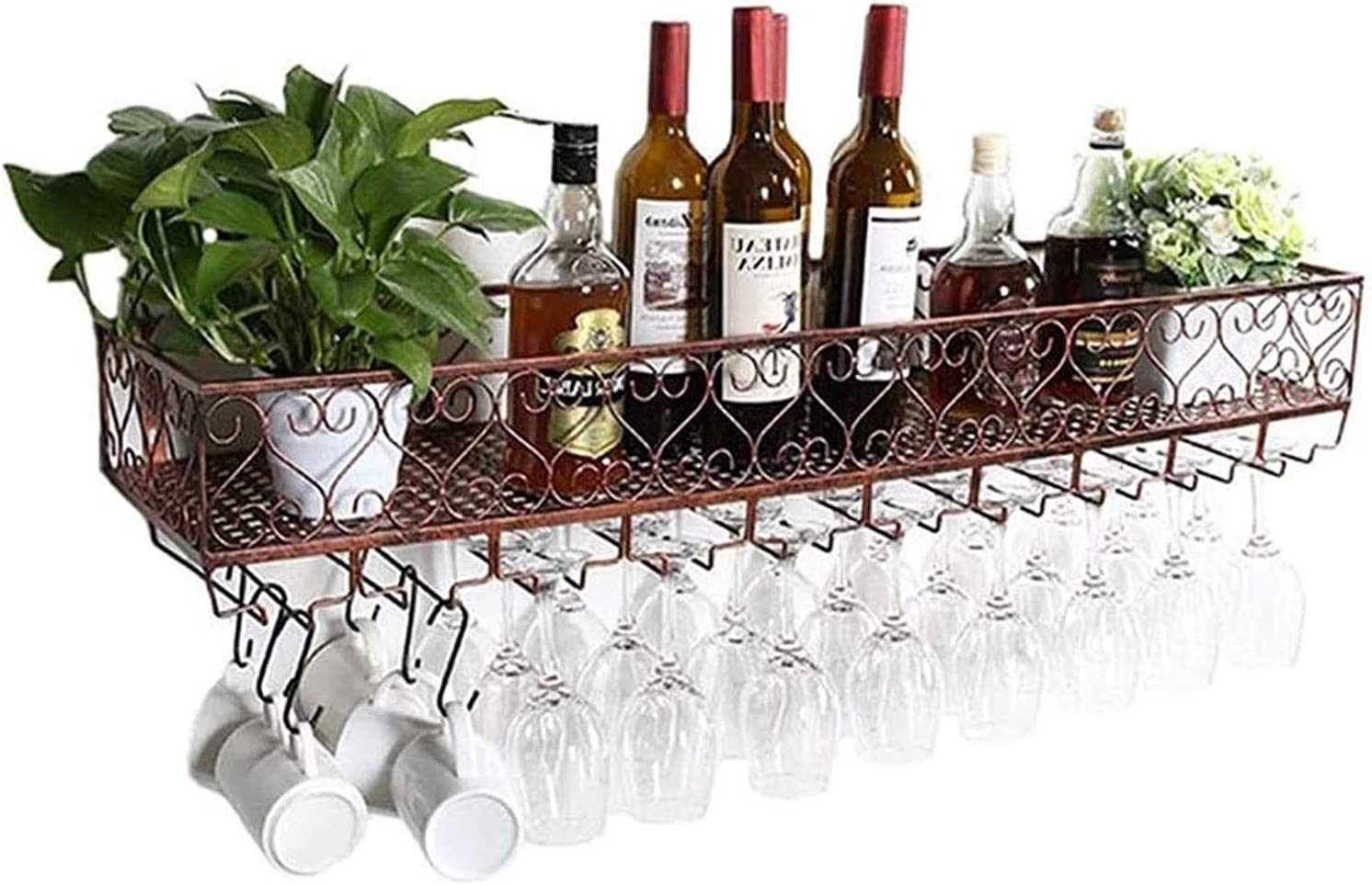 LXYYY Wine Spasm price Rack Ceiling Hanging Holder Direct stock discount Rac Bottle