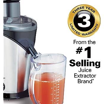 Hamilton Beach 67750-IN 850-Watt Big Mouth Juice Extractor (Stainless Steel)
