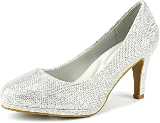 DREAM PAIRS City_CT Women's Classic Low Stiletto Heels...