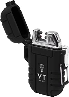 VT Gear Arc Lighter Survival Gear and Equipment, Tactical Gear, Camping Gear, Survival Gear, Electric Lighter, EDC, Hiking...