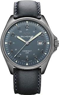 Glycine - Combat 6 Vintage Reloj para Hombre Analógico de Automático con Brazalete de Piel de Vaca GL0299