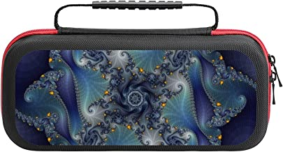 $22 » Artistic Abstract Streamer Color Game Bag Switch Travel Carrying Case for Personalized Design Switch Lite Console and Acce...