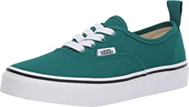 f09e649bde9925 Vans Kids Authentic Elastic Lace (Little Kid Big Kid) at Zappos.com