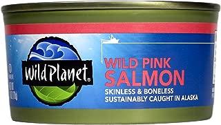 Wild Planet, Wild Alaska Pink Salmon, 6 Ounce