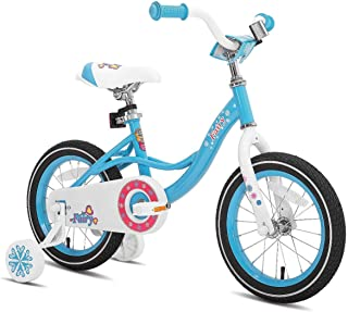JOYSTAR 12 14 16 Inch Kids Bike with Training Wheels for 2-7 Years Old Girls 2'9