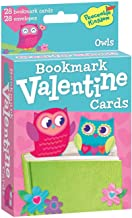 Peaceable Kingdom Owl Bookmark Valentines - 28 Cards and Envelopes