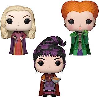 Funko Disney: POP! Hocus Pocus - Juego de coleccionistas - Sarah con araña, Winifred con magia, Mary con bocanadas de queso