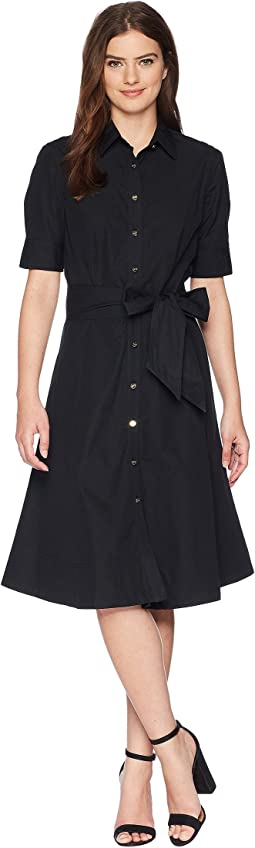 LAUREN Ralph Lauren Cotton Poplin Shirtdress