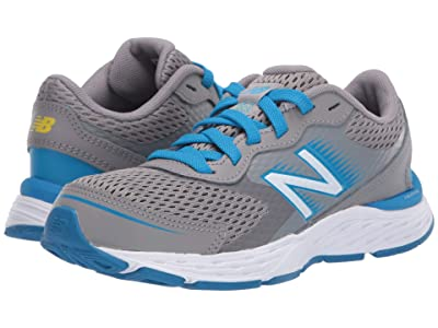 New Balance Kids 680v6 (Little Kid/Big Kid) (Marblehead/Vision Blue) Boys Shoes