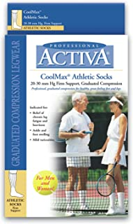 activa coolmax athletic socks