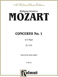 Flute Concerto No. 1, K. 313 (G Major) (Orch.): Part(s) (Kalmus Edition)