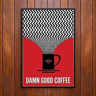 Twin Peaks, Damn Good Coffee! Poster or Framed Print