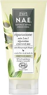 N.A.E. - Soin 2 en 1 Après-Shampooing/Masque - Cheveux Secs -Certifié Bio - Formule Vegan - 98 % d'ingrédients d'origine n...