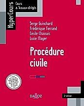 Livres Procédure civile 6e édition - 6e éd. (HyperCours) PDF