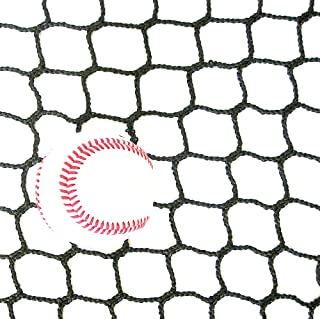 10' High X 30' Wide Sports Barrier & Containment Netting, #36 Polypro Netting, Serged Cord Edge Bordering, Baseball, Softball, Hockey, Lacrosse, Soccer, Basketball, Tennis, Volleyball, Multipurpose