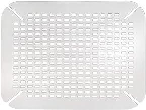 iDesign Spülbeckeneinlage, große Spülbeckenmatte aus PVC Kunststoff, Spülmatte mit..