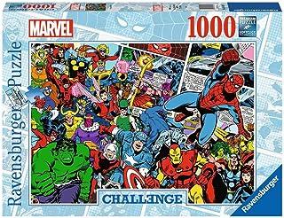 Ravensburger 1000 pièces-Marvel (Challenge Puzzle) Avengers Adulte, 4005556165629