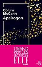 Apeirogon - Prix du Meilleur Livre Etranger 2020