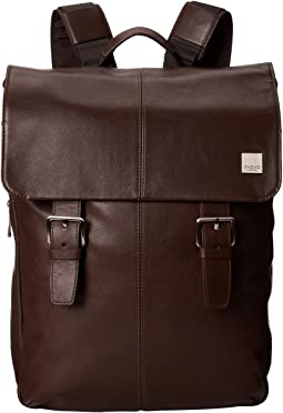 KNOMO London - Hudson Leather Laptop Backpack