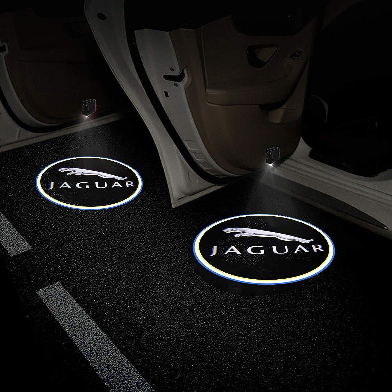 2PCS For Corvette Car Door Logo Projector Light Wireless Ghost Shadow LED Courtesy Door Light
