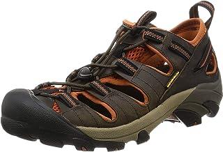 KEEN Men's Arroyo II Hiking Sandal,Black Olive/Bombay Brown,13 M US
