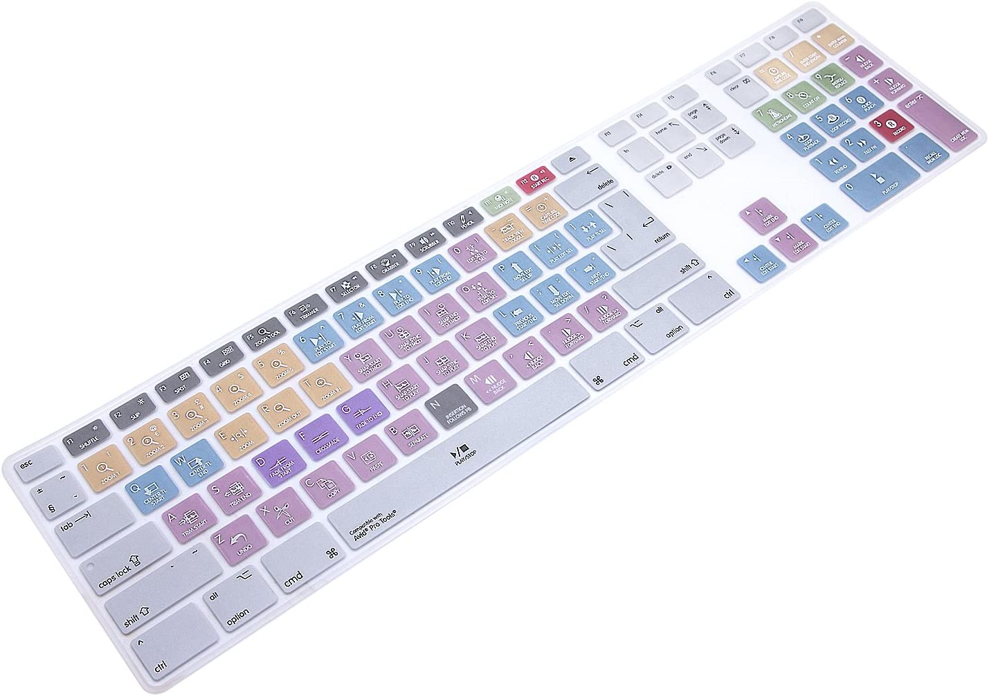 WYGCH Ultra Thin Shortcuts Extended Protective Tulsa Mall Silicone Keyboard excellence