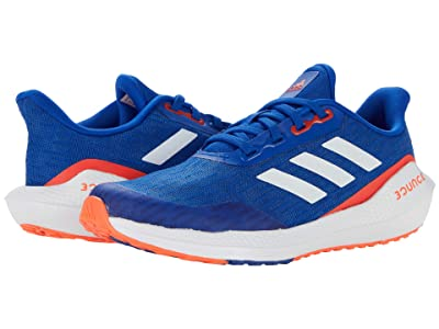adidas Kids EQ Run (Big Kid) (Team Royal Blue/White/Solar Red) Kid