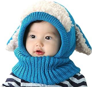 Baby Girl Boy Winter Hats Scarf Earflap Hood Scarves Skull Caps