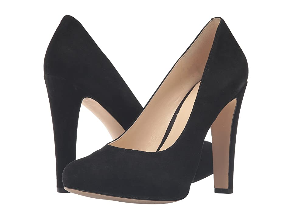 Nine West Brielyn (Black Suede) Women