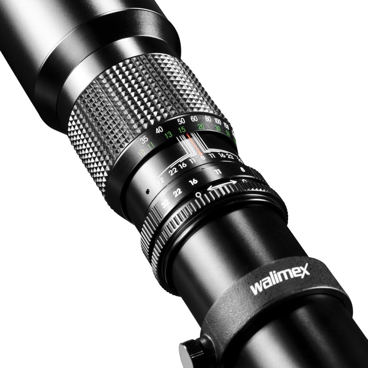 Walimex 500mm 1 8 0 Dslr Objektiv Für Sigma Bajonett Kamera