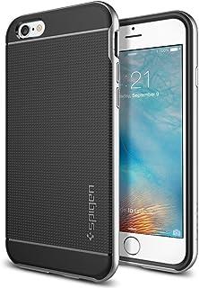 Spigen Neo Hybrid Designed for Apple iPhone 6S Case (2015) - Satin Silver