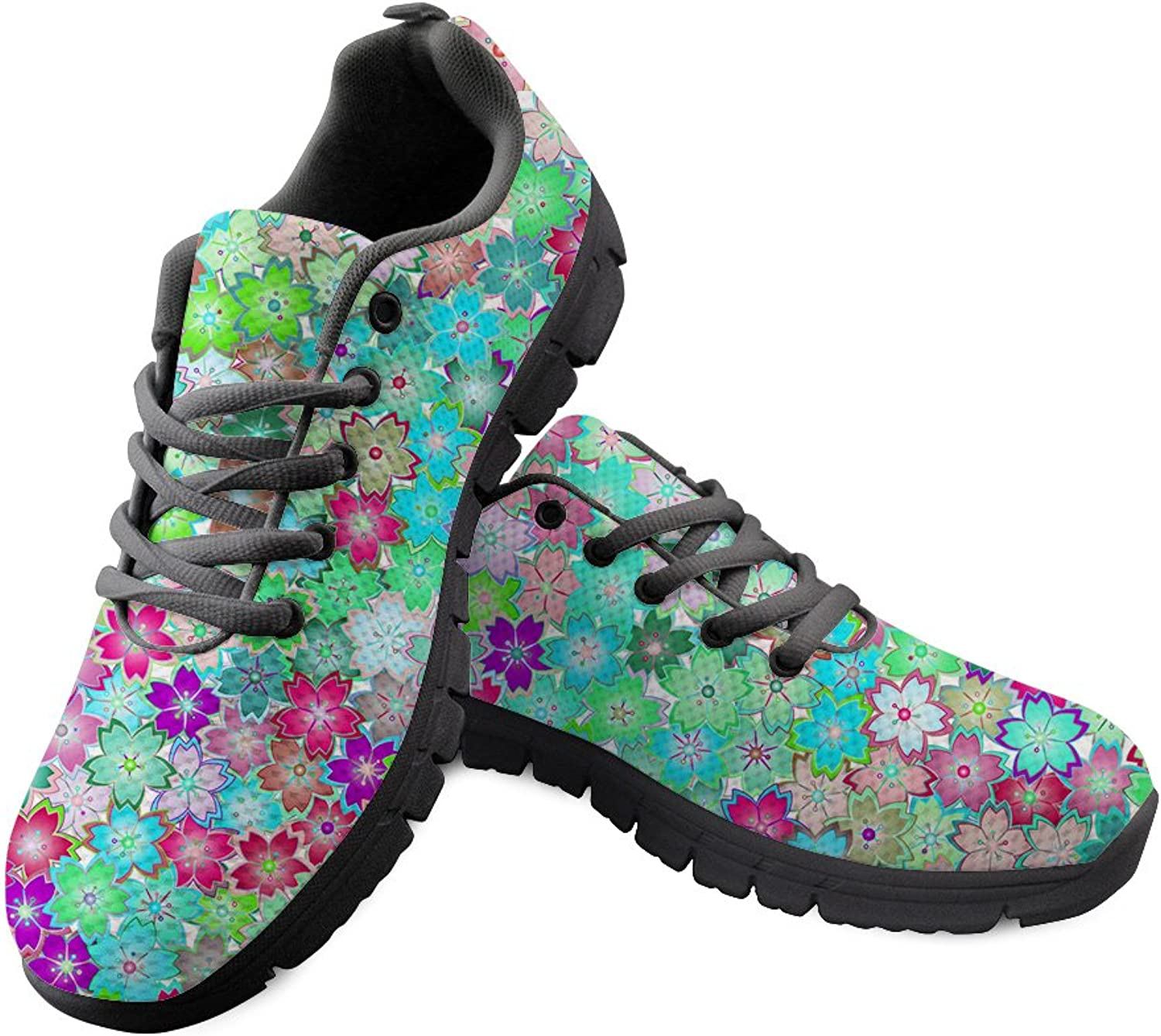 DeePrint Comfortable Athletic Trainer Tennis Athletic Sneakers shoes 2018 Sport shoes