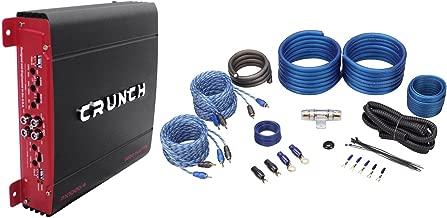 Crunch PX-1000.4 1000 Watt 4 Ch. Powerful Car Audio Amplifier+Amp Wire Kit