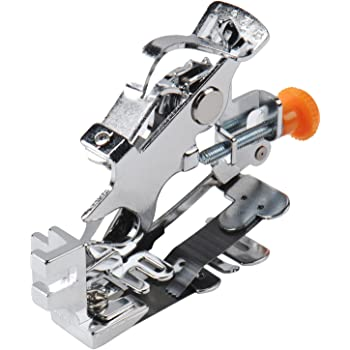 Prensatelas con cortador lateral multifuncional para máquina de ...