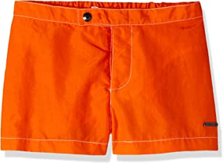 Parke & Ronen Men's Solid Snap Short