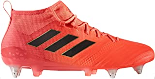 adidas Performance Mens ACE 17.1 Soft Ground Lace Up Sport Football Boots-Orange